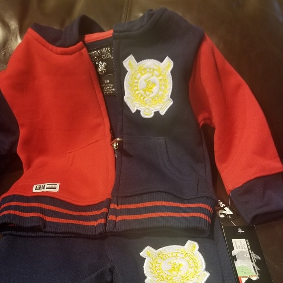 Beverly Hills Polo Club Boys Polo 2pc Short Set Size 2T 3T 4 5//6